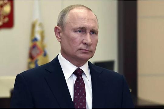 Tổng thống Putin chúc mừng nhân dân Nga nhân Ngày nước Nga