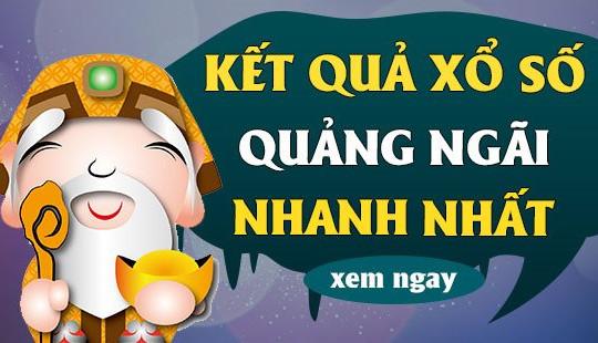 XSQNG 19/6 - KQXSQNG 19/6 - Kết quả xổ số Quảng Ngãi ngày 19 tháng 6 năm 2021