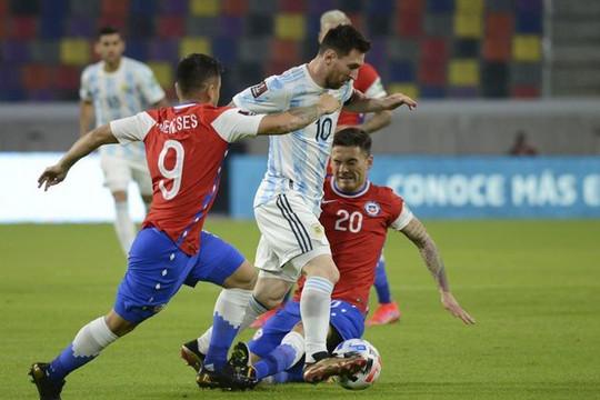 Argentina chia điểm với Chile trong ngày ra quân Copa America 2021