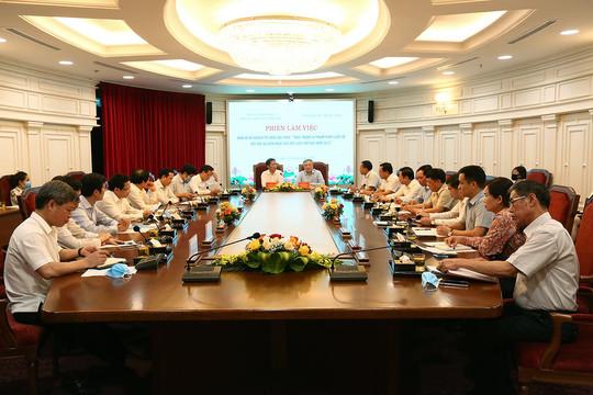 Ban cán sự đảng TANDTC làm việc với Ban Kinh tế Trung ương