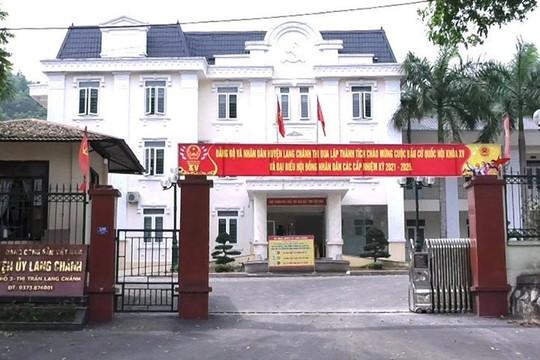 Cách tất cả các chức vụ trong Đảng đối với Chủ nhiệm UBKT Huyện ủy Lang Chánh