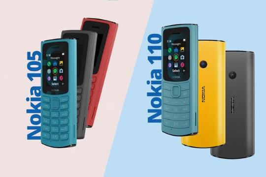Nokia 110 4G và 105 4G ra mắt
