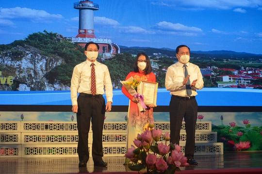 Báo Công lý giành giải B Cuộc thi giải Báo chí tỉnh Lạng Sơn lần thứ nhất