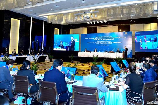 Đối thoại chính sách cao cấp Diễn đàn hợp tác Á-Âu: Việt Nam đề xuất 3 mục tiêu lớn ASEM cần hướng tới