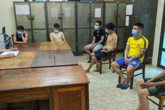 Bắt nhóm đối tượng sử dụng ma túy trong quán karaoke ở Yên Bái