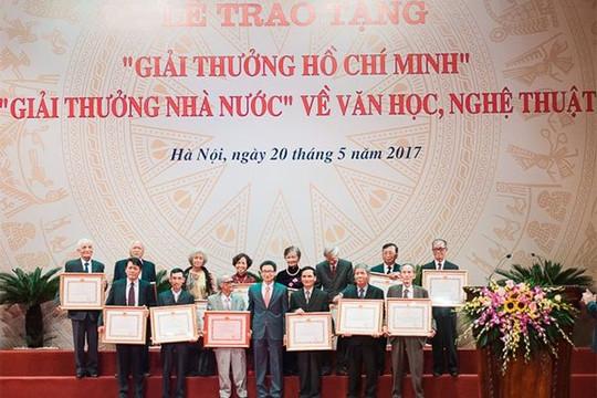 Lấy ý kiến về hồ sơ xét tặng Giải thưởng Hồ Chí Minh, Giải thưởng Nhà nước về văn học nghệ thuật