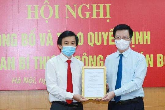 Ban Bí thư điều động, chỉ định Phó Bí thư Đảng ủy Khối các cơ quan Trung ương