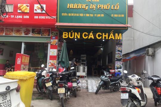 Thành phố Lạng Sơn: Một số loại hình dịch vụ được hoạt động trở lại
