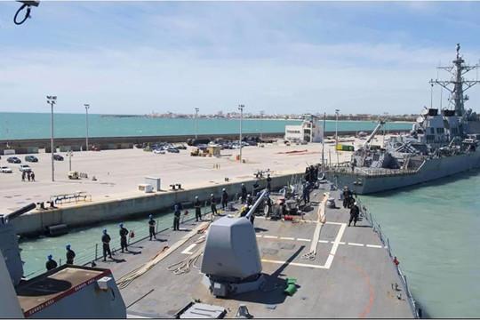 Tàu khu trục Mỹ lên đường đến Biển Đen tham gia Sea Breeze 2021