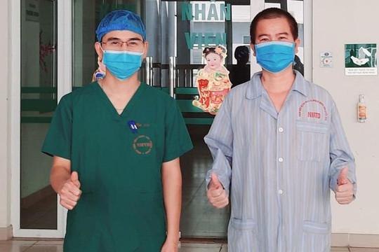 Bệnh nhân Covid-19 nặng, từng được can thiệp ECMO xuất viện