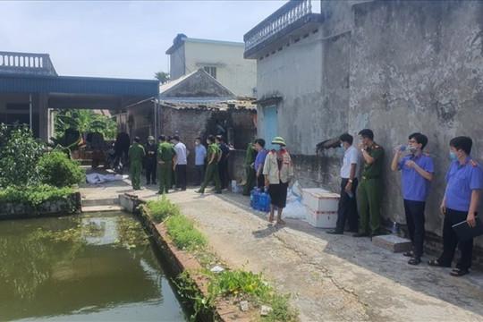 Nguyên nhân ban đầu vụ con rể sát hại cả nhà bố mẹ vợ ở Thái Bình