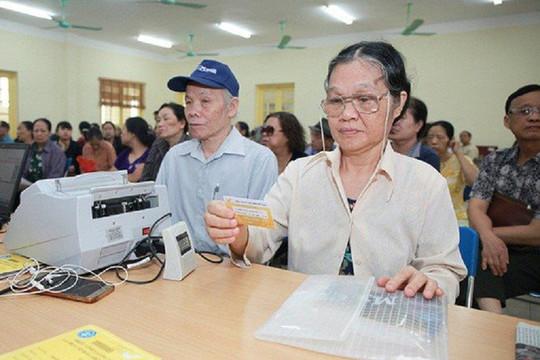 BHXH Việt Nam chi trả lương hưu, trợ cấp tháng 7 và 8/2021 vào cùng một kỳ chi trả