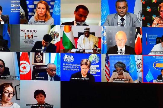 Hội đồng Bảo an: Duy trì hòa bình và an ninh quốc tế trên không gian mạng