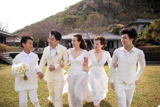 Hoa hậu Thu Hoài kết hôn với bạn trai doanh nhân kém 10 tuổi