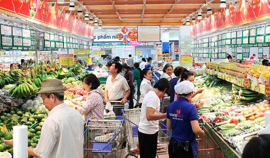 Doanh thu bán lẻ hàng hóa 6 tháng năm 2021 tăng 6,2%