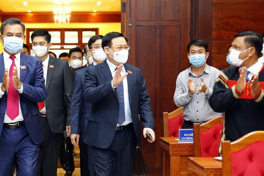 Chủ tịch Quốc hội: Đưa Đắk Lắk trở thành cực tăng trưởng kinh tế, có sức hấp dẫn trong khu vực Tây Nguyên