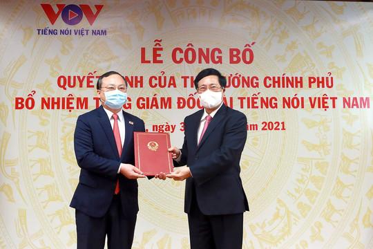 Bí thư Hưng Yên nhận quyết định làm Tổng Giám đốc Đài tiếng nói Việt Nam