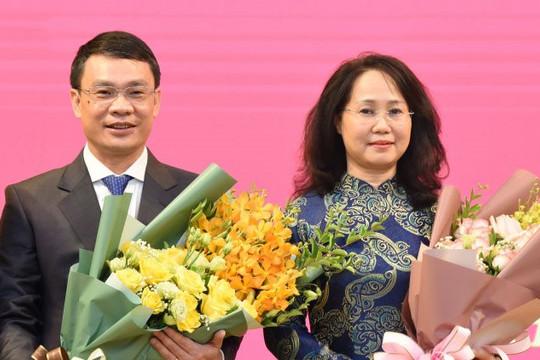 Bộ Chính trị và Ban Bí thư điều động, bổ nhiệm 2 Phó Chánh Văn phòng Trung ương Đảng