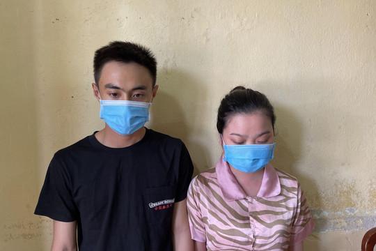 Cặp đôi 9X chuyên lừa đảo trúng thưởng qua mạng