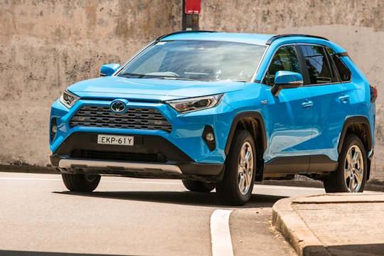 Toyota sắp ra mắt RAV 4 thế hệ mới