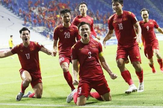 Việt Nam cùng bảng với Trung Quốc ở vòng loại thứ ba World Cup 2022