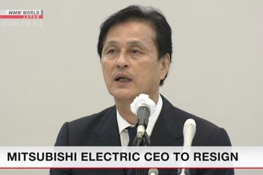 Chủ tịch tập đoàn Mitsubishi từ chức vì bê bối sai dữ liệu trong 3 thập kỷ