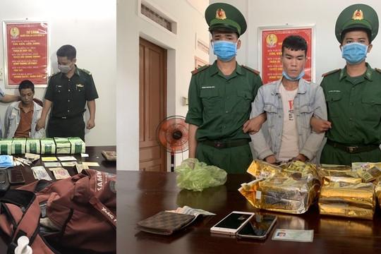 Đấu tranh chuyên án A2-521, bắt 2 đối tượng thu giữ 17kg ma túy tổng hợp
