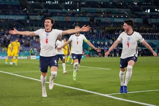 Đội tuyển Anh nghiền nát Ukraine và thiết lập 2 kỷ lục để tiến thẳng vào bán kết Euro 2020
