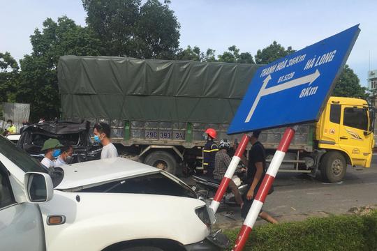 Xác định nguyên nhân ban đầu vụ tai nạn liên hoàn ở Bỉm Sơn