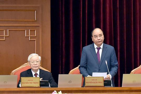 Trung ương nghe các Tờ trình của Bộ Chính trị và Ban cán sự đảng Chính phủ