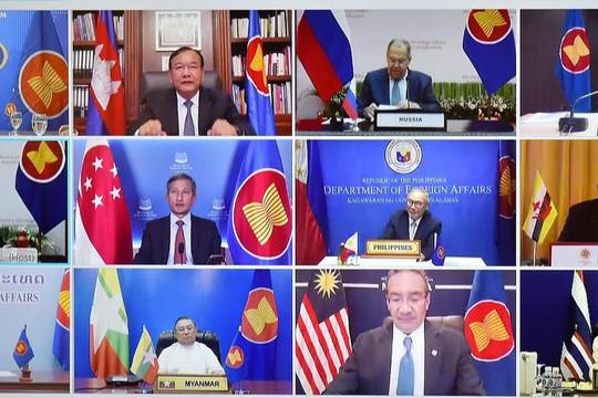 ASEAN-Nga hợp tác chặt chẽ, đẩy lùi các biến chủng nguy hiểm của virus SARS-CoV-2