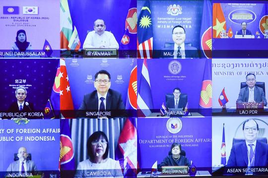 """Vấn đề Triều Tiên, Biển Đông, tình hình Myanmar làm """"nóng"""" Đối thoại ASEAN-Hàn Quốc"""