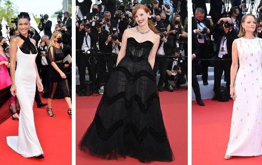 """Dàn sao Hollywood """"chặt chém"""" trên thảm đỏ LHP Cannes 2021"""