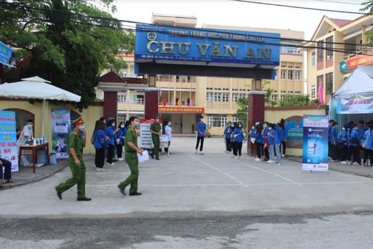 Lạng Sơn: Hơn 9.500 thí sinh bước vào ngày thi đầu tiên kỳ thi THPT quốc gia 2021