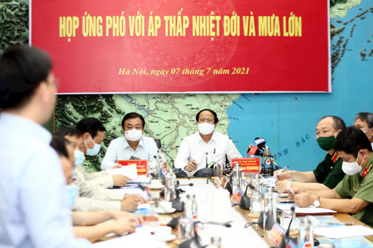 Phó Thủ tướng Lê Văn Thành: Chủ động phòng chống và giảm thiểu thiệt hại do ATNĐ, mưa lũ gây ra