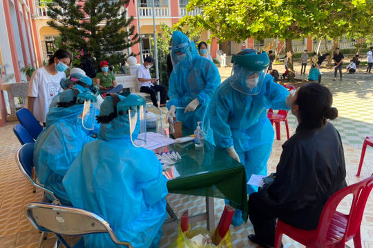 Phú Yên: Hủy 2 điểm thi có 772 thí sinh vì liên quan Covid-19