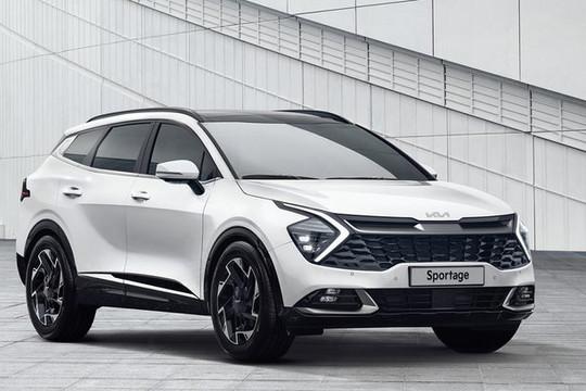 Kia Sportage 2022 được trang bị động cơ mới