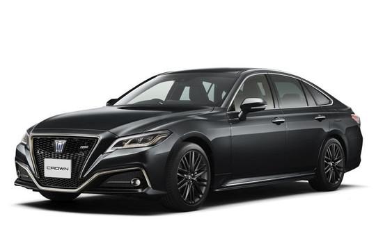Toyota Crown được bổ sung thêm 2 phiên bản giới hạn mới
