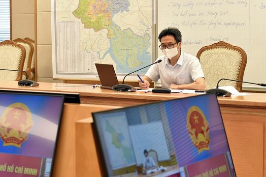 Phó Thủ tướng Vũ Đức Đam: Ưu tiên lớn nhất là giữ khoảng cách tại TP.HCM
