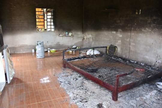 Phát hiện thi thể cháy đen trong căn nhà tạm trên rẫy