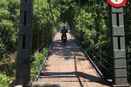Thái Nguyên: Kiểm tra, rà soát các cầu treo trên địa bàn tỉnh