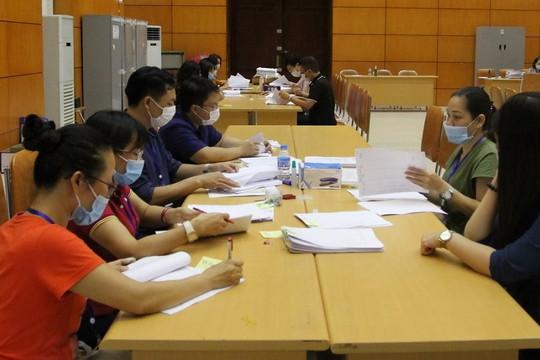 Nhiều tỉnh đã hoàn thành công tác chấm thi đợt 1