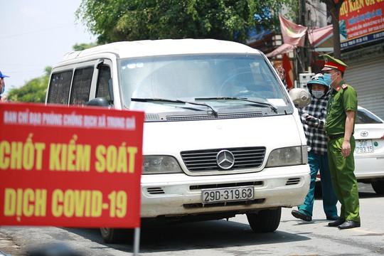 Hà Nội lập 22 chốt kiểm soát ở cửa ngõ vào thành phố