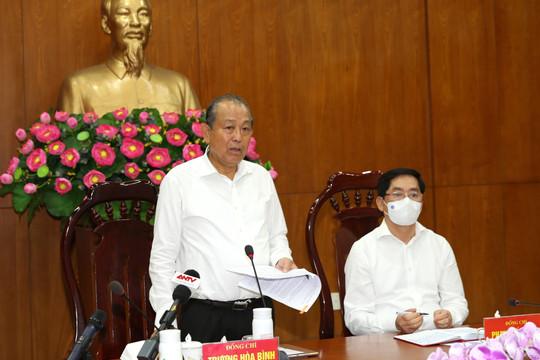 Phó Thủ tướng Thường trực: Bà Rịa-Vũng Tàu  thực hiện Chỉ thị 16 nếu thấy cần thiết