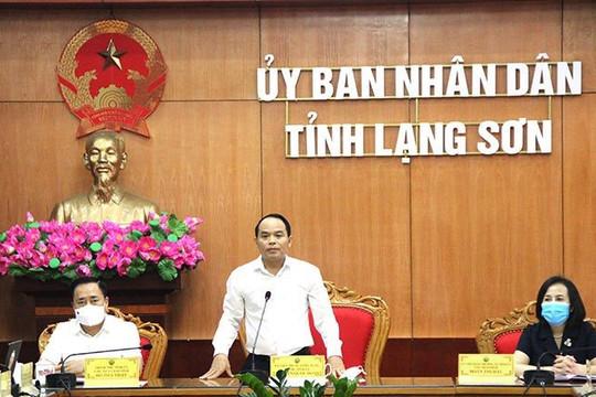 """Bí thư Tỉnh ủy Lạng Sơn: Các đơn vị tiếp tục phát huy tinh thần """"chống dịch như chống giặc"""""""