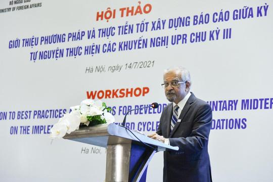 Liên hợp quốc: Việt Nam đã chủ động đương đầu với các thách thức trong bảo vệ, thúc đẩy quyền con người