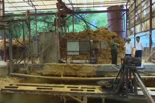 Thanh Hóa xử phạt hàng loạt cơ sở xả thải trái quy định ra sông Mã