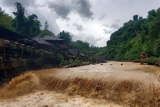 Cảnh báo nguy cơ lũ quét, sạt lở đất tại Lai Châu, Điện Biên, Sơn La và Lào Cai