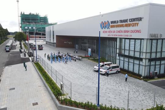 Bình Dương chính thức đưa vào hoạt động bệnh viện dã chiến