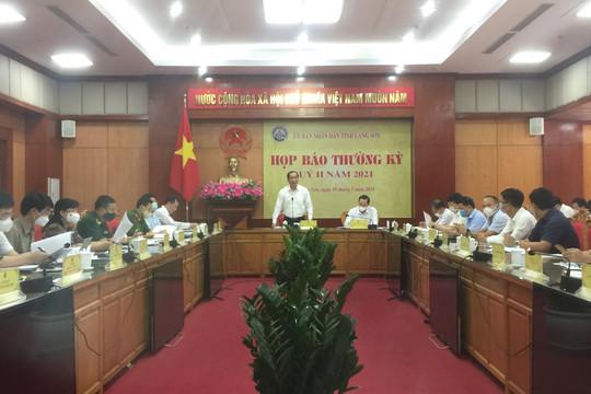 Lạng Sơn: Kinh tế - xã hội tiếp tục phát triển, dịch Covid-19 được kiểm soát trong 6 tháng đầu năm 2021